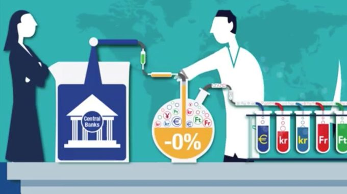 Below Zero–The World Experiments With Negative Interest Rates